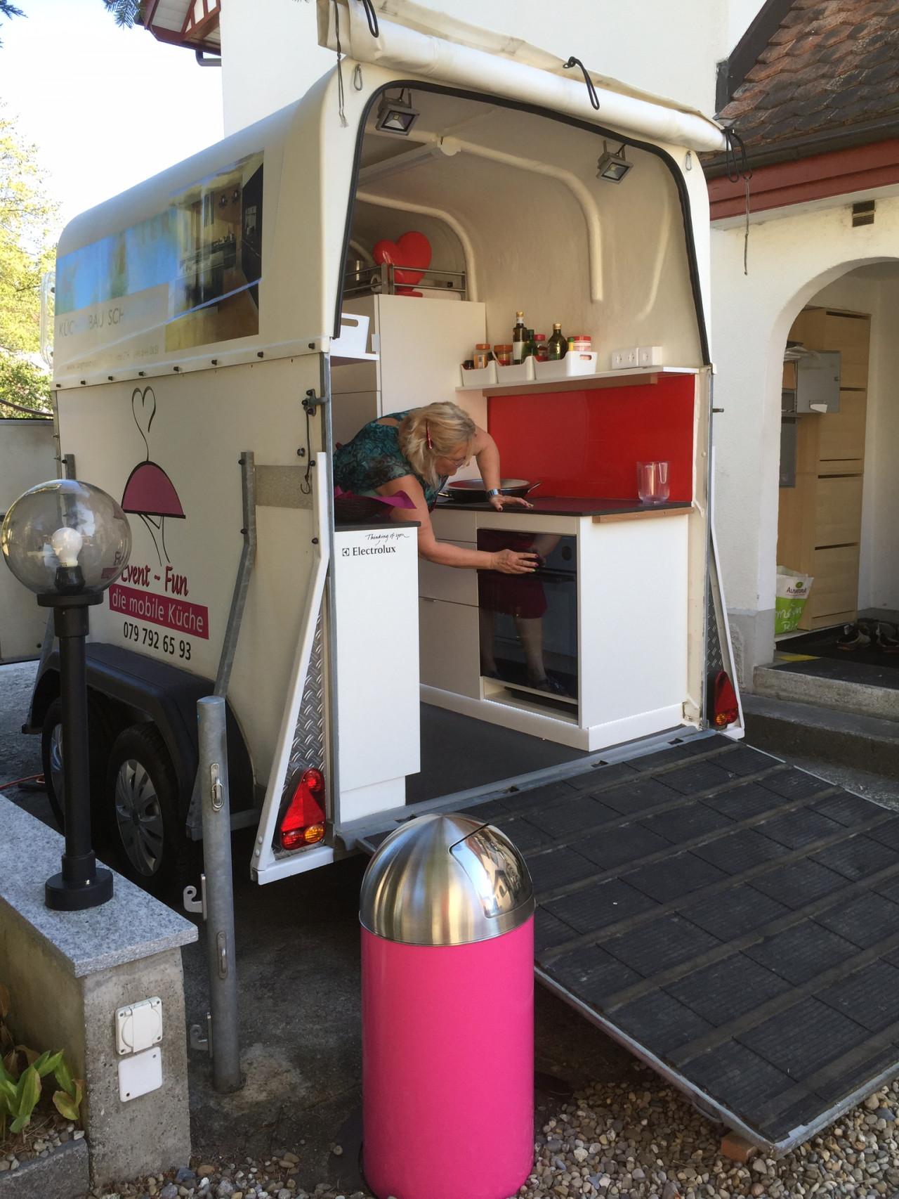 news - Fahrbare Küche